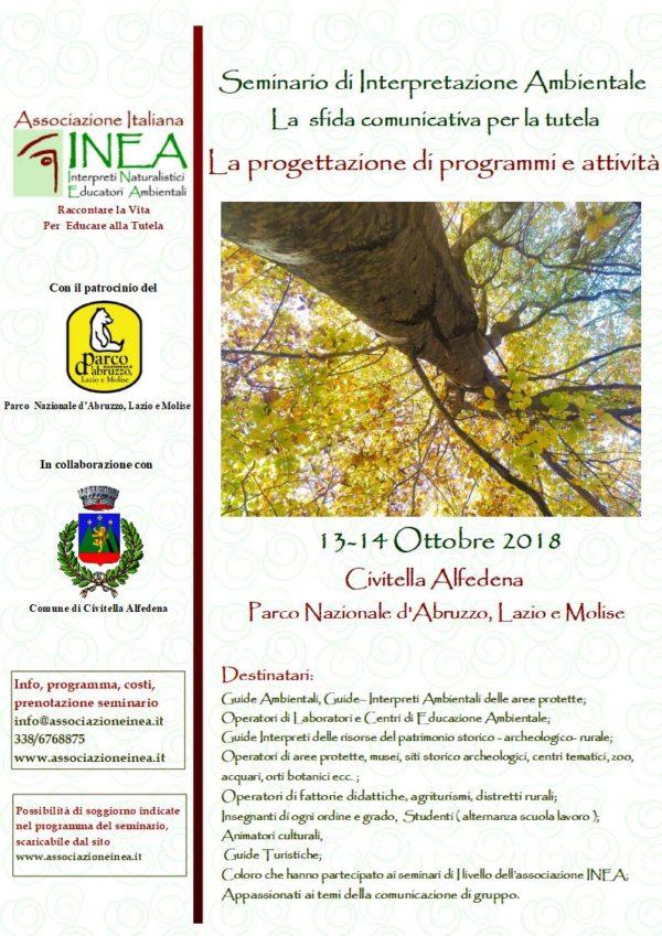 Interpretazione ambientale la progettazione di programmi for Programmi di progettazione